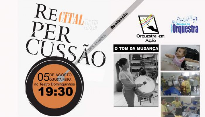 Recital de Percussao